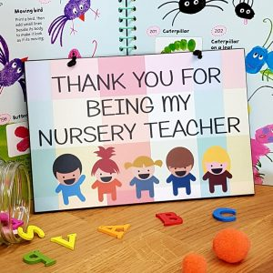 Thank You For Being My Nursery Teacher