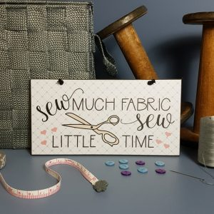 Sew Much Fabric Sew Little Time