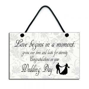congratulations on your wedding day