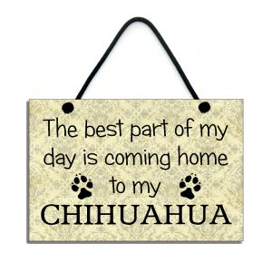 Chihuahua Plaque The Best Part Of My Day